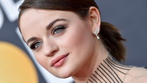 Joey King Wore an All-Blue Outfit and It's Giving Us Major Cinderella Vibes