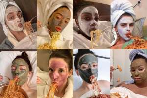 There's A Good Reason Why Eating While Masking Is